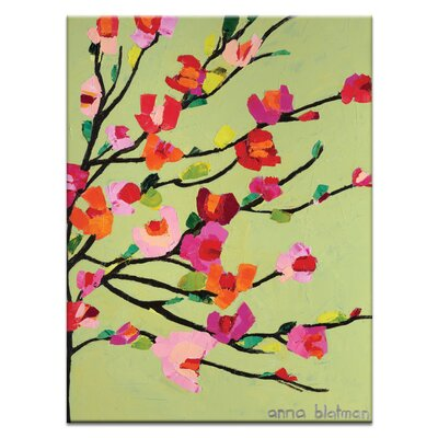Artist Lane 'Karens Spring Day' by Anna Blatman Art Print on Wrapped Canvas