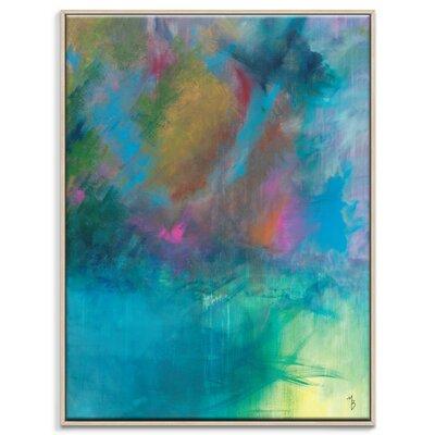 Artist Lane 'Blessed' by Mario Burgoa Framed Art Print on Wrapped Canvas