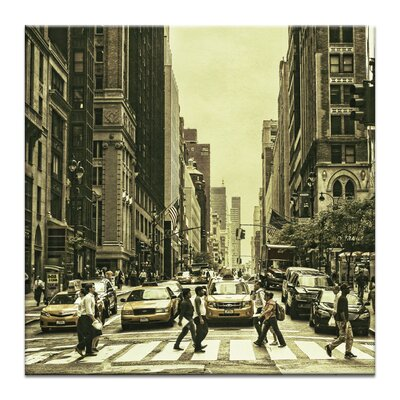 Artist Lane 'Disconnection' by Andrew Paranavitana Photographic Print on Wrapped Canvas