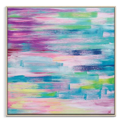 Artist Lane 'Spring Rush' by Josie Nobile Art Print Wrapped on Canvas