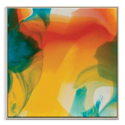 Artist Lane 'Flow 19' by Chalie MacRae Art Print Wrapped on Canvas