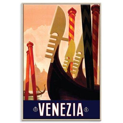 Artist Lane Venezia' Graphic Art Unwrapped on Canvas