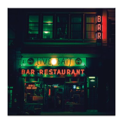 Artist Lane 'Live Bait' by Andrew Paranavitana Photographic Print Wrapped on Canvas