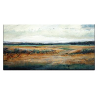 Artist Lane 'Field Rush' by Lydia Ben-Natan Art Print on Wrapped Canvas