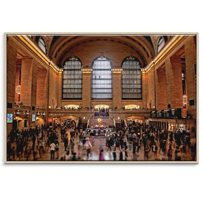 Artist Lane 'Grand Central' by Andrew Paranavitana Framed Photographic Print on Wrapped Canvas