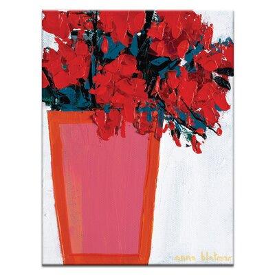 Artist Lane 'Marina' by Anna Blatman Art Print Wrapped on Canvas