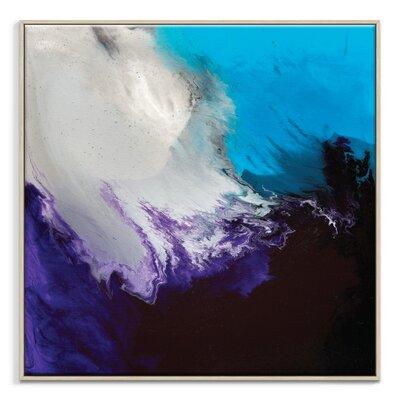 Artist Lane 'Flow 17' by Chalie MacRae Art Print Wrapped on Canvas