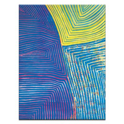 Artist Lane 'Shanti Sky' by Rebecca Vincent Art Print on Wrapped Canvas