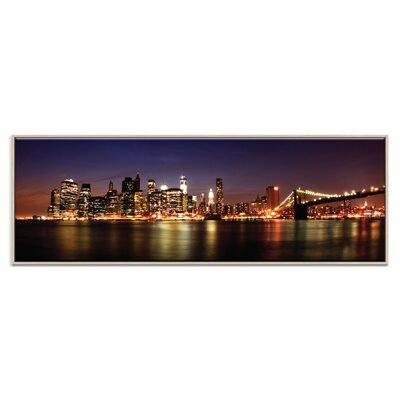 Artist Lane 'Manhattan Panoramic' by Andrew Paranavitana Photographic Print Wrapped on Canvas