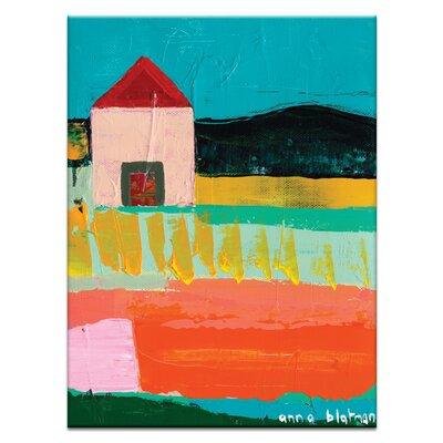Artist Lane 'Warrak' by Anna Blatman Art Print on Wrapped Canvas
