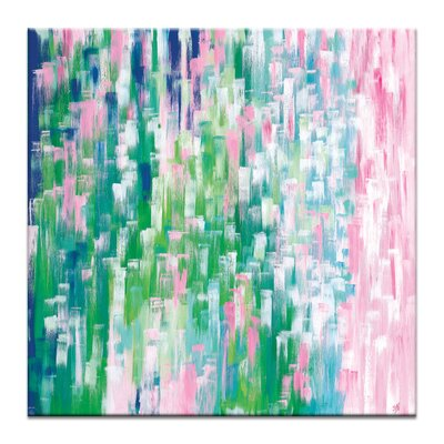 Artist Lane 'Paradise Falls' by Josie Nobile Art Print Wrapped on Canvas