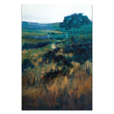 Artist Lane 'Hillside Dreamers' by Lydia Ben-Natan Art Print on Wrapped Canvas