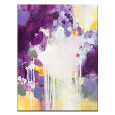 Artist Lane '31515' by Amanda Morie Art Print on Wrapped Canvas