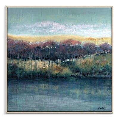 Artist Lane 'Pastel Past' by Lydia Ben-Natan Framed Art Print on Wrapped Canvas