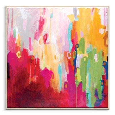 Artist Lane 'Electra Street' by Amira Rahim Framed Art Print on Wrapped Canvas