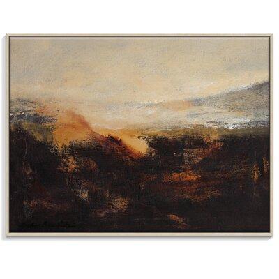 Artist Lane 'Sienna Ridge' by Lydia Ben-Natan Framed Art Print on Wrapped Canvas