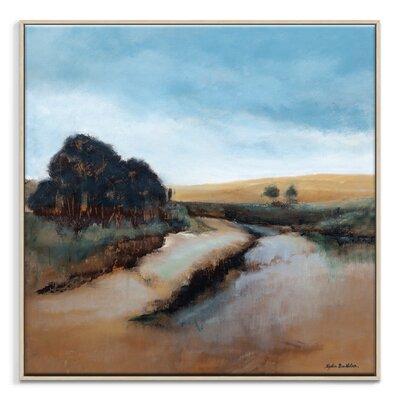 Artist Lane 'Story Brook' by Lydia Ben-Natan Art Print Wrapped on Canvas