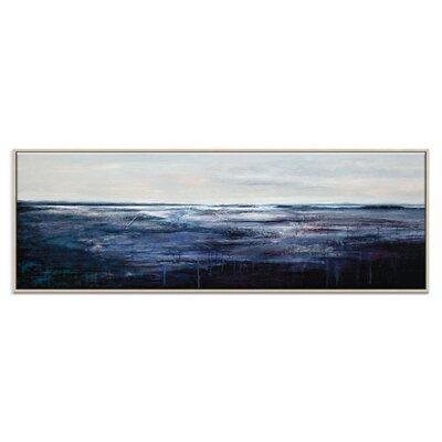 Artist Lane 'Solitude' by Lydia Ben-Natan Framed Art Print on Wrapped Canvas
