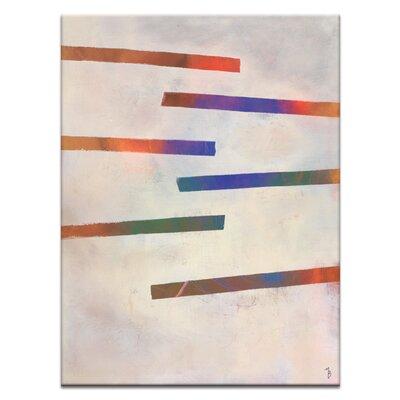 Artist Lane 'Writings' by Mario Burgoa Art Print on Wrapped Canvas