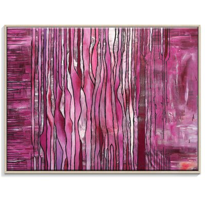 Artist Lane 'A Place in the Line' by Rebecca Vincent Framed Art Print on Wrapped Canvas
