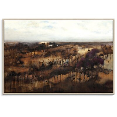 Artist Lane 'Violet Venture' by Lydia Ben-Natan Framed Art Print on Wrapped Canvas