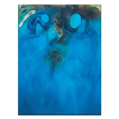 Artist Lane 'Coast #5' by Katherine Boland Art Print on Wrapped Canvas