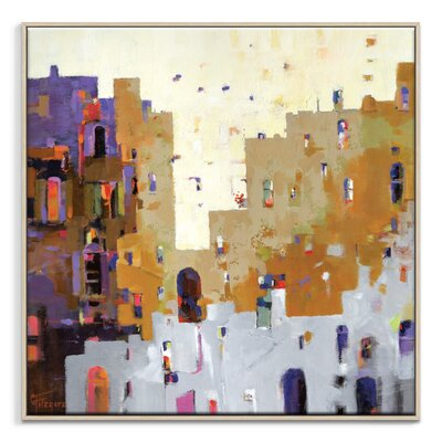 Artist Lane 'Gossip' by Catherine Fitzgerald Art Print Wrapped on Canvas