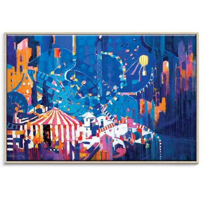 Artist Lane 'Time of Your Life' by Catherine Fitzgerald Framed Art Print on Wrapped Canvas