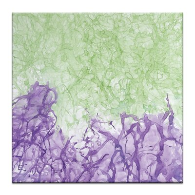 Artist Lane 'Ink Flow 2' by Chalie MacRae Art Print Wrapped on Canvas