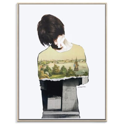 Artist Lane 'Default Guilt' by Steve Leadbeater Framed Graphic Art on Wrapped Canvas