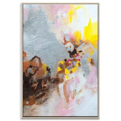 Artist Lane '61015' by Amanda Morie Art Print Wrapped on Canvas