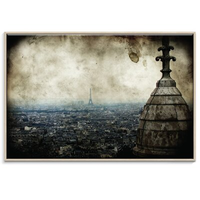 Artist Lane 'Anamnesis' by Andrew Paranavitana Framed Photographic Print on Wrapped Canvas