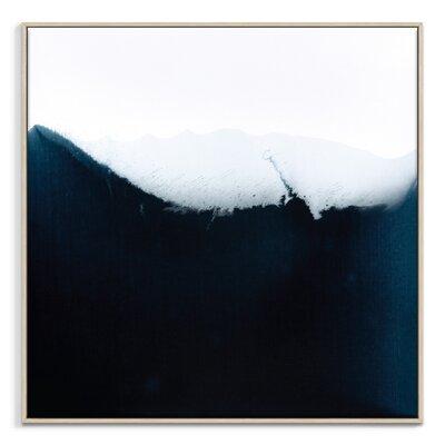 Artist Lane 'Flow 8' by Chalie MacRae Framed Art Print on Wrapped Canvas