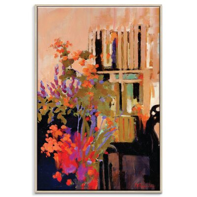 Artist Lane 'Bloom and Grow' by Catherine Fitzgerald Art Print Wrapped on Canvas