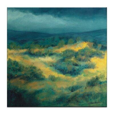 Artist Lane 'Storm Peak' by Lydia Ben-Natan Art Print Wrapped on Canvas