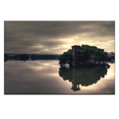 Artist Lane 'Stillness Speaks' by Andrew Paranavitana Photographic Print on Wrapped Canvas