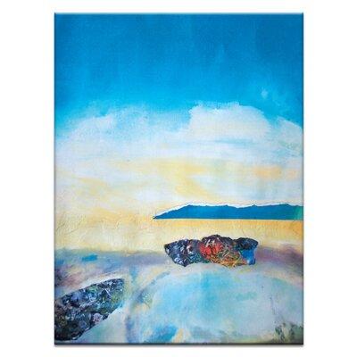 Artist Lane 'Coast #6' by Katherine Boland Art Print on Wrapped Canvas