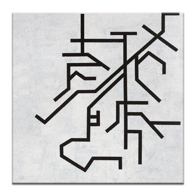 Artist Lane 'Geometric 4' by Chalie MacRae Art Print on Wrapped Canvas