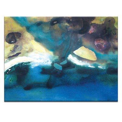 Artist Lane 'Coast #2' by Katherine Boland Art Print Wrapped on Canvas