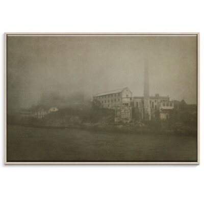 Artist Lane 'Alcatraz Approaching ' by Andrew Paranavitana Framed Photographic Print on Wrapped Canvas