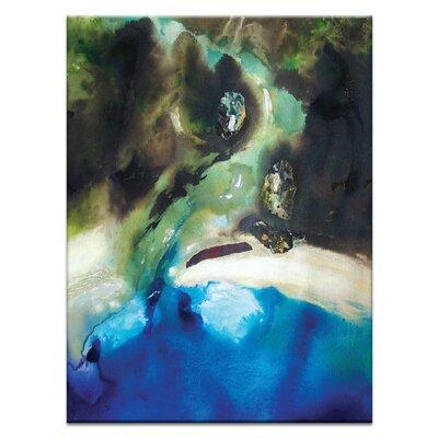 Artist Lane 'Coast #7' by Katherine Boland Art Print on Wrapped Canvas