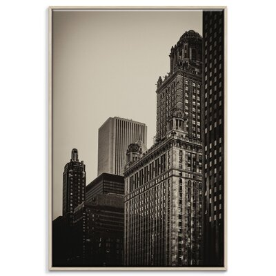 Artist Lane 'Jewelers Building' by Andrew Paranavitana Photographic Print on Wrapped Canvas