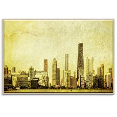 Artist Lane 'Lakeside Views' by Andrew Paranavitana Framed Photographic Print on Wrapped Canvas