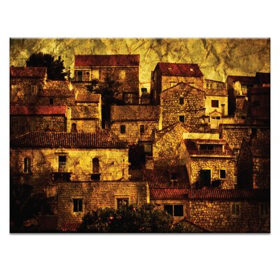 Artist Lane 'Neighbourhood' by Andrew Paranavitana Photographic Print on Wrapped Canvas
