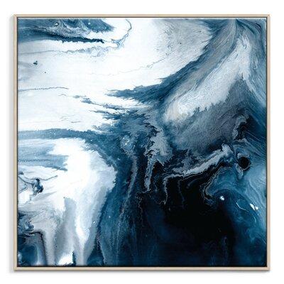 Artist Lane 'Flow 53' by Chalie MacRae Framed Art Print on Wrapped Canvas
