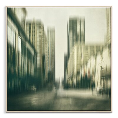 Artist Lane 'Flux' by Andrew Paranavitana Photographic Print Wrapped on Canvas