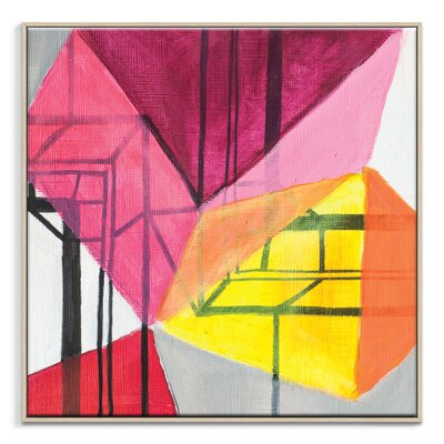 Artist Lane '42515' by Amanda Morie Framed Art Print on Wrapped Canvas