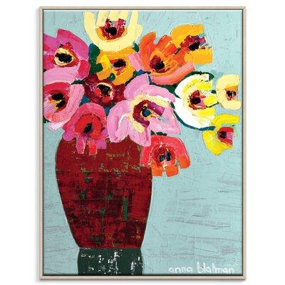 Artist Lane 'Alana' by Anna Blatman Art Print Wrapped on Canvas