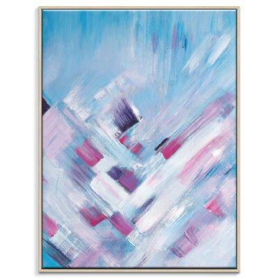 Artist Lane 'Pretty in Pink' by Brenda Meynell Framed Art Print on Wrapped Canvas