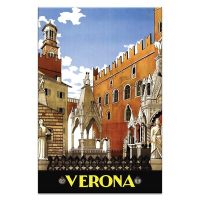 Artist Lane 'Verona' Graphic Art on Wrapped Canvas